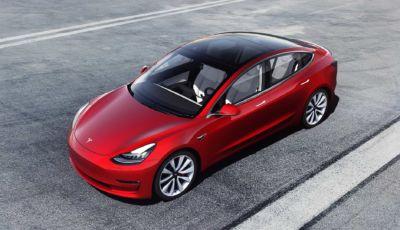 Tesla Model 3 2021: l'elettrica di massa più efficiente al mondo