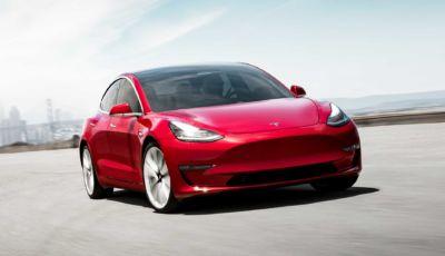 Tesla Model 3 auto elettrica più venduta in Europa a settembre
