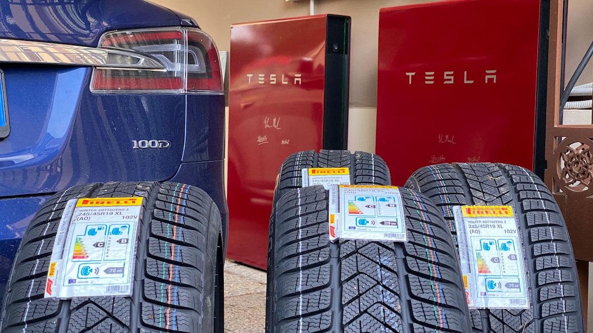 Pirelli invernali Winter davvero elettrici e sicuri anche sulla Tesla!