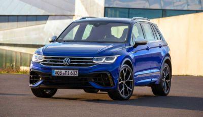 Volkswagen Tiguan R: pronto al debutto il SUV sportivo da 320 CV