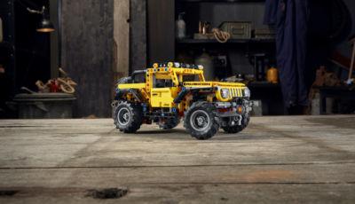 Lego Technic: arriva anche il modellino della Jeep Wrangler