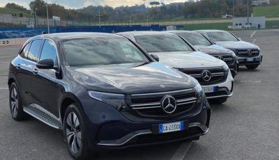 In pista e fuori con la gamma elettrificata Mercedes