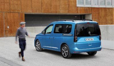 Volkswagen Caddy, arriva la quinta generazione