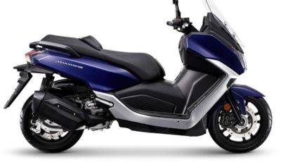 Sym Maxsym 400: il maxi scooter orientale è tutto nuovo