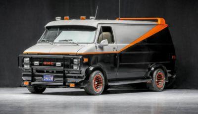 Il GMC Vandura Cargo dell'A-Team è in vendita!