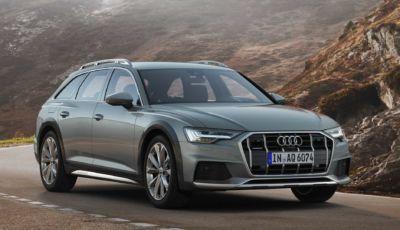 Audi A6 Allroad Quattro: disponibile il mild-hybrid diesel da 64.500 Euro