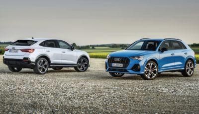Audi Q3: la TFSI plug-in hybrid debutta in Italia ad inizio 2021