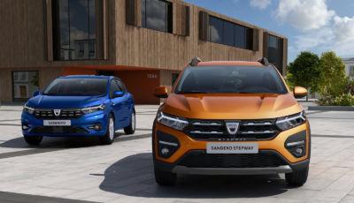Dacia Sandero: disponibili le nuove Streetway e Stepway da 8.950 Euro