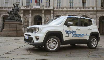 Geofencing by FCA: inizia la fase 2 con la Jeep Renegade 4xe