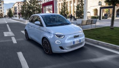 Fiat 500 Elettrica: disponibile l'infotainment con Amazon Alexa