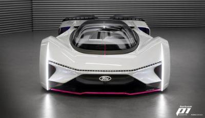 Ford crea la Fordzilla P1, nata grazie ai gamer di tutto il mondo