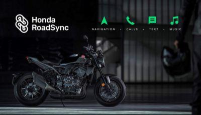 Honda RoadSync: l'app per migliorare la connettività smartphone-moto
