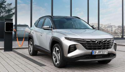 Hyundai Tucson: la Plug-in Hybrid arriva in primavera 2021