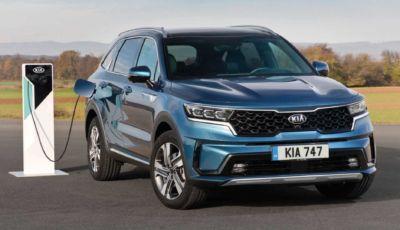 Kia Sorento plug-in hybrid: super-sicura con le 5 stelle Euro NCAP