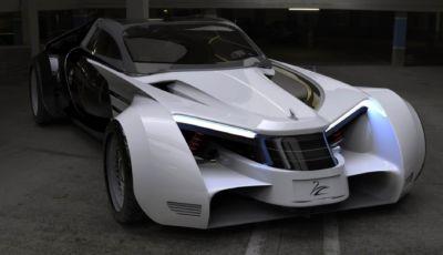 Lazzarini One: la limousine ibrida del futuro da 1800 cavalli