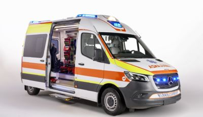 Mercedes: lo Sprinter Ambulanza nella lotta al Covid-19