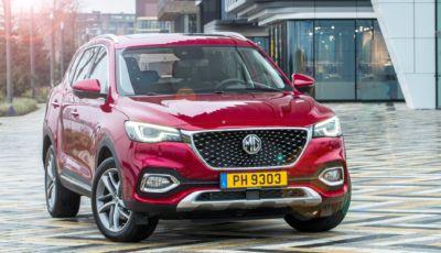 """MG E-HS Plug-in Hybrid: il SUV """"alla spina"""" in Italia da 34.000 Euro"""