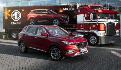 MG EHS Plug-in Hybrid: il 7 dicembre l'unveiling del SUV ibrido inglese
