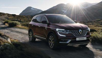 Renault Koleos 2021: fari a LED in due allestimenti da 41.600 Euro