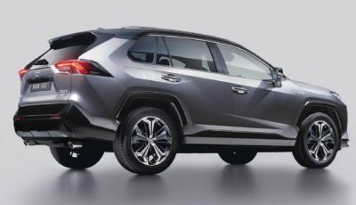 Toyota RAV4: la Plug-in Hybrid arriva in Italia da 55.500 Euro
