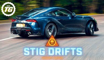 Come driftare con la Toyota Supra? Ce lo insegna Stig di Top Gear!