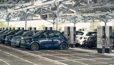 FCA lancia Vehicle-to-Grid, il progetto che collegherà la 500 elettrica alla rete