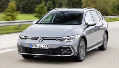 Volkswagen Golf Alltrack 2021: la cross-country in Italia da 44.100 Euro