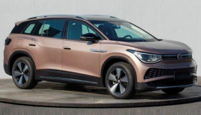 Volkswagen ID.6: le prime foto del SUV elettrico a sette posti