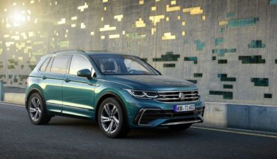 Volkswagen Tiguan eHybrid: prezzi da 42.000 Euro