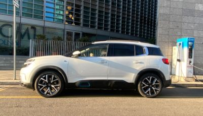 SUV Citroën C5 Aircross Hybrid: i consumi