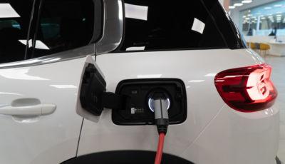 SUV Citroën C5 Aircross Hybrid: come si ricarica la batteria