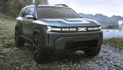 Dacia Bigster Concept: come sarà il SUV del futuro