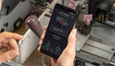 FordPass Pro con Guard Mode, la app contro i furti dei furgoni