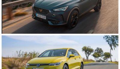 Auto Più Bella Del Web 2021: finalissima Cupra Formentor Vs. Volkswagen Golf 8