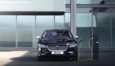 Jaguar I-Pace: il SUV elettrico inglese fa il pieno di novità