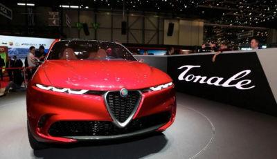 Alfa Romeo Tonale: il C-SUV del Biscione presentato a settembre 2021