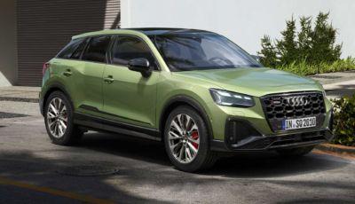 Audi SQ2 MY2021: il SUV sportivo arriva in Italia da 51.700 Euro