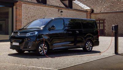 Citroën ë-SpaceTourer 2021: il furgone elettrico si completa con la versione XS