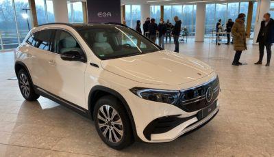 Mercedes EQA: il cugino elettrico della GLA parte da 50.190 Euro e beneficia degli incentivi statali