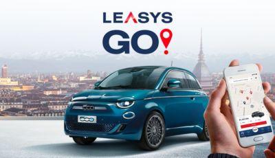 LeasysGO, il servizio di car-sharing per la nuova Fiat 500