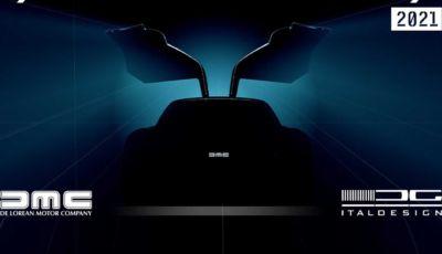 Delorean DMC12: ritorno in produzione in versione elettrica?