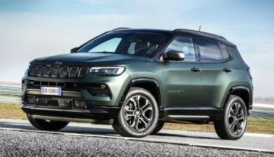 Jeep Compass MY2021: il restyling sarà in versione 80° Anniversario