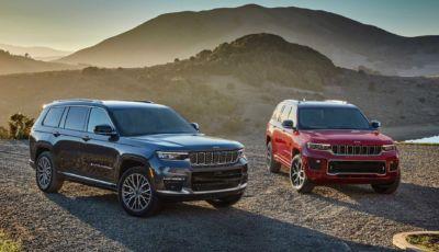 Jeep Grand Cherokee L 2021: svelata la versione a sette posti