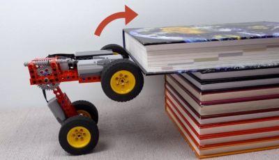 L'auto Lego quasi inarrestabile (vedere per credere!)