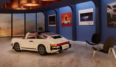 Porsche 911 Turbo e Targa: il set convertibile della Lego ha 1.458 pezzi!
