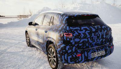 Mercedes EQA: il crossover elettrico è pronto al debutto