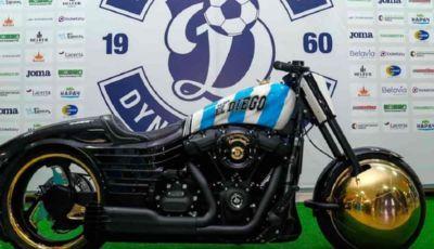 Maradona: nella sua eredità anche una Harley-Davidson customizzata