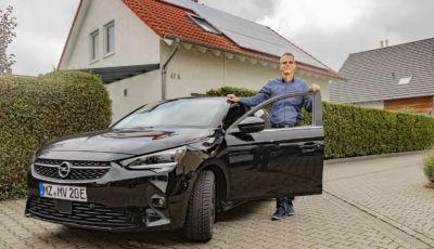 Opel Corsa-e alimentata dal Sole? In Germania è possibile!