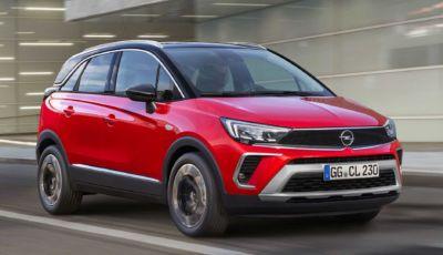 Opel Crossland 2021: quattro allestimenti e prezzi da 20.850 Euro
