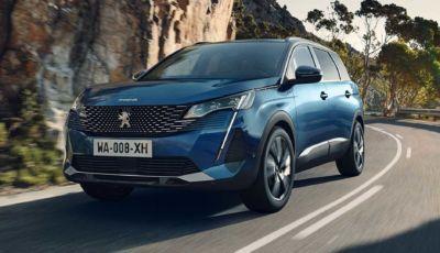 Peugeot 5008 MY2021: il SUV Premium a sette posti parte da 31.750 Euro